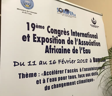 19th International Congress and Exhibition of the African Water Association