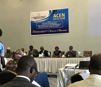 2018 EGM of the Association for Consulting Engineering in Nigeria